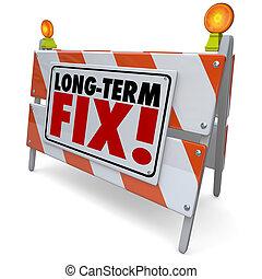 Long Term Fix Road Construction Repair Permanent Good Lasting Job