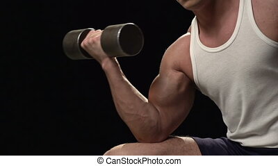 Long Way to Masculinity - Close-up of a male bicep