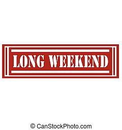 Long Weekend-stamp
