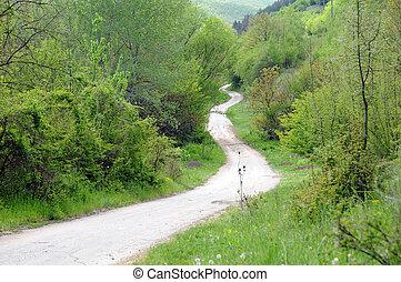 Long Winding Dirt Road
