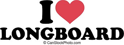 longboard, amour