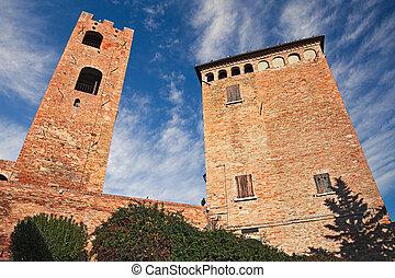Longiano, Forli-Cesena, Emilia-Romagna, Italy: the medieval...
