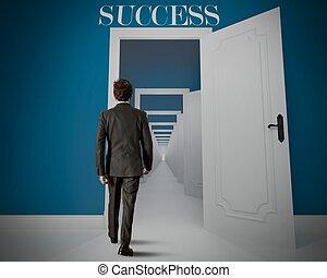 longo, maneira, sucesso