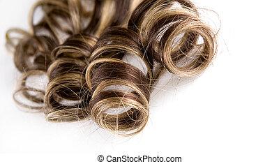 longs cheveux