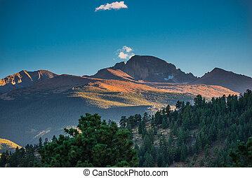 Longs Peak at Sunset