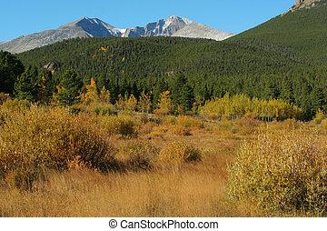 Longs Peak, autumn