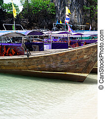 longtail, barcos