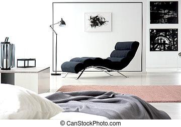 longue chaise, quadro