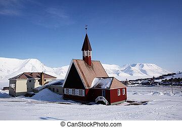 longyearbyen, 教堂