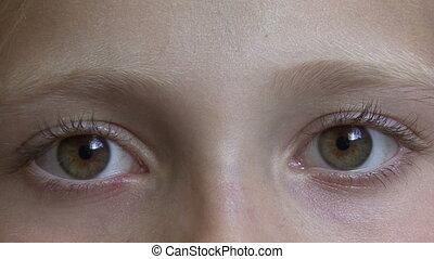 look., eyes., féminin