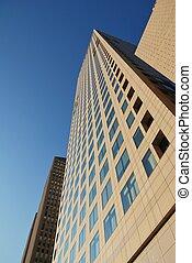 Look up building