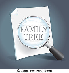 Looking at a family tree - Taking a closer look at genealogy...