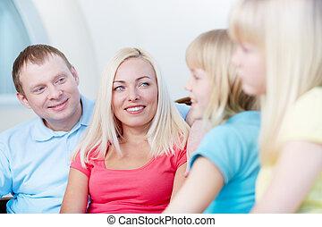 Looking at daughters