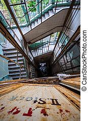 elevator shaft