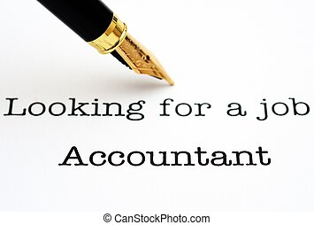 Looking for a job Accountant