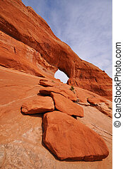 Looking Glass Arch Near Moab Utah