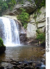 Looking Glass Waterfall - A refreshing swim at Looking Glass...