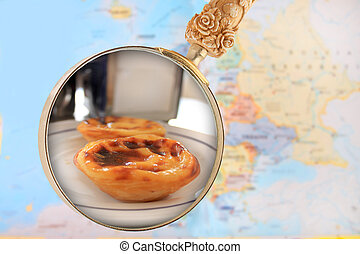 Looking in on Portuguese custard cakes - Looking in on...