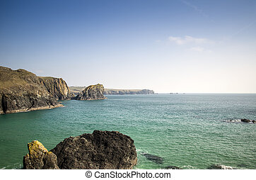 Looking out to sea from Kynance Cove
