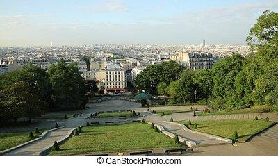 looking Paris skyline