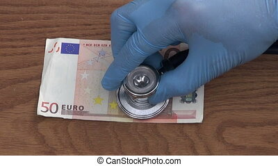 looking stethoscope euro health