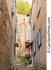 Little lane French village Casinca