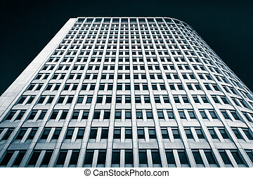 Looking up at the Building in downtown Wilmington, Delaware.