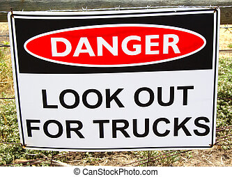 Lookout Trucks Sign