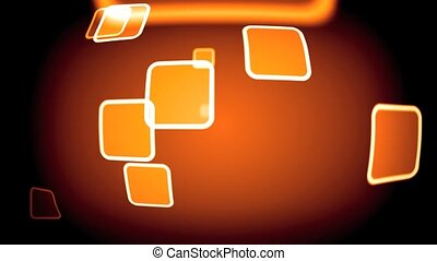 orange - loop able orange background animation