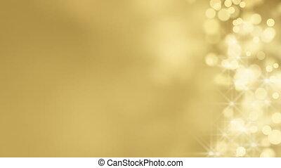 loop background gold bokeh