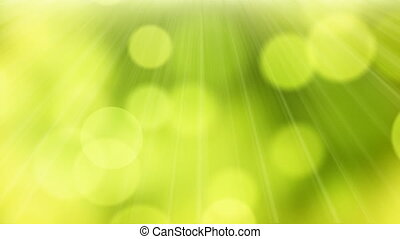 loop background green bokeh - loopable abstract background...