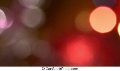 loop blue blurred circles