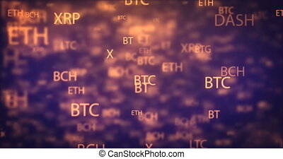 Loop digital money moving background - Loopable...