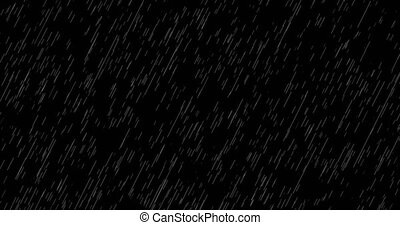 Loop falling rain background