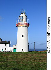 Loop Head Lighthouse. County Clare, Ireland