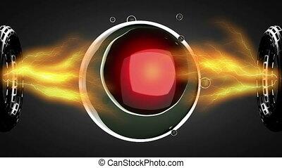 loop rotate cell division illustrat