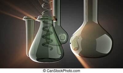 loop rotate laboratory glassware