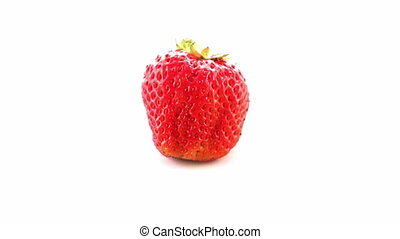 loop rotating strawberry
