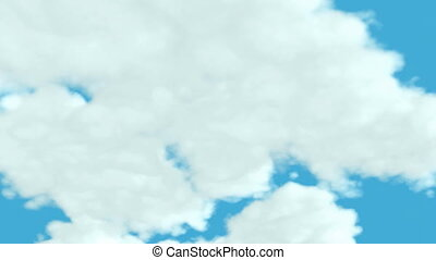 Loopable Clouds Time lapse
