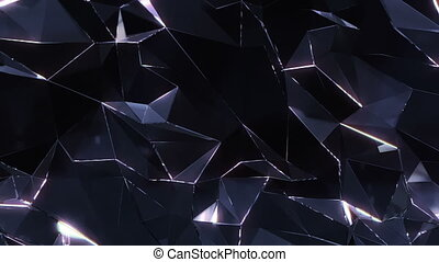 Loopable crystal background