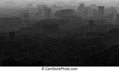 Loopable dark city