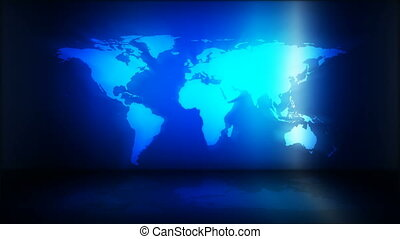 Loopable global business background