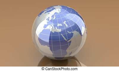 loopable, globe, rotation, -