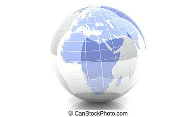 loopable, globe, tourner, -