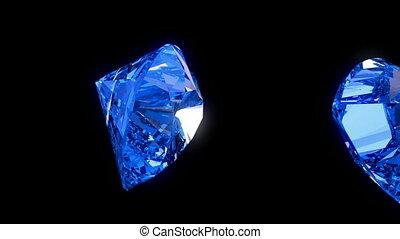 Loopable heart cut diamonds flow