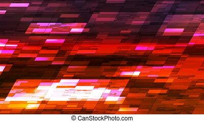 loopable, mały, czerwony, abstrakcyjny, moment, cześć-tech, nachylać, 4k, poziomy, pomarańcza, rejestry adwokatów