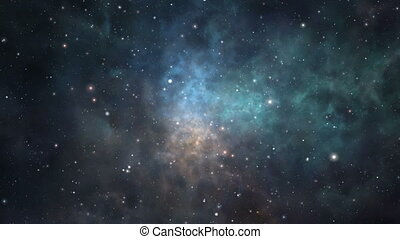 Loopable nebula flight