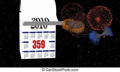 New Year 2010-2011 calendar