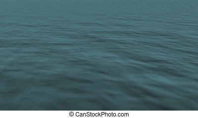 Loopable realistic FullHd 3d sea.