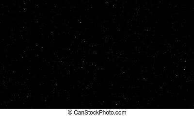"""loopable stars black empty space, 4k"""